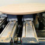 fertig gefräste Tischplatte