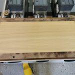 Nähtischplatte mit Einsatz auf der CNC